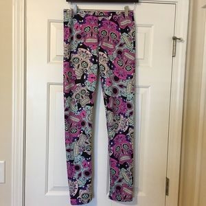 Just Cozy Fleece Lined Leggings NWT